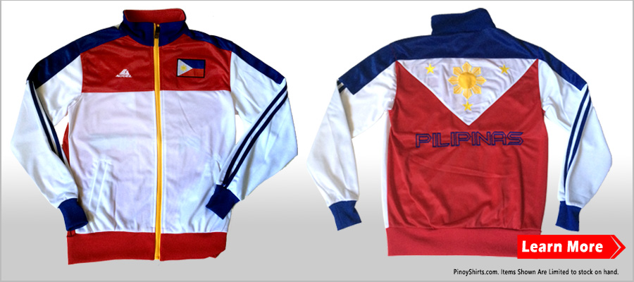 Pinoy Men's Jacket % Cotton We're happy to see our product wear anywhere with our co-Pinoy Kababayan! Did you know that we could ship around the world with discount price on the bulk item (per dozen)?
