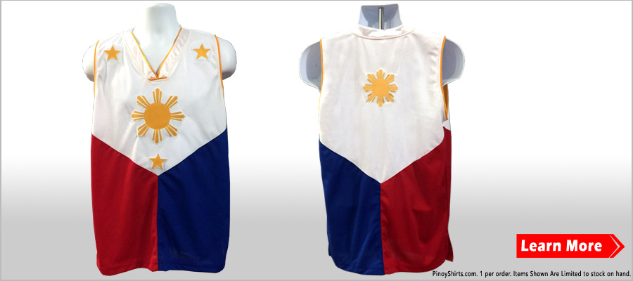 Philippines Flag Jersey