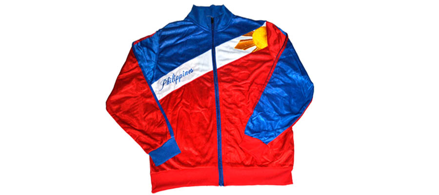 Philippine Jacket With the Sun over Left Side Heart Area