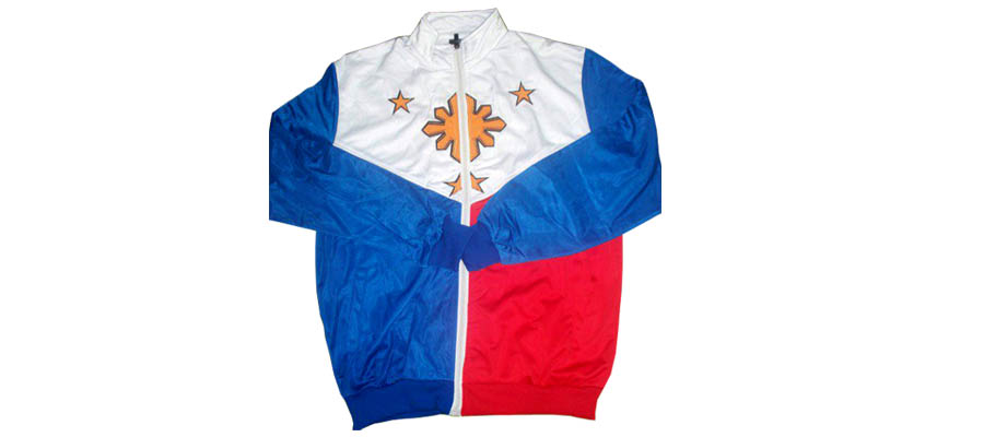 Philippine Jacket With Sun In Middle Center
