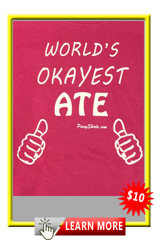 Worlds Okayest Ate Tee